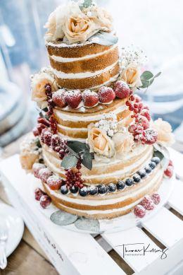 Hochzeit-Torte