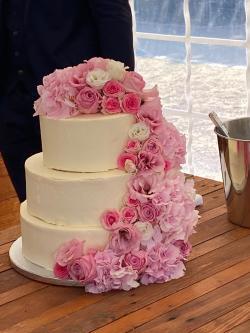 Hochzeitstorte Rosa 2020