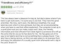 TripAdvisor Comment, June 2016