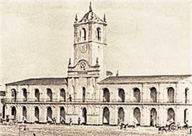 Cabildo de Buenos Aires en 1823