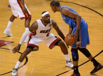Lebron and Durant