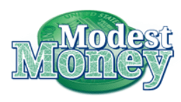 Logo from the personal finance blog Modest Money