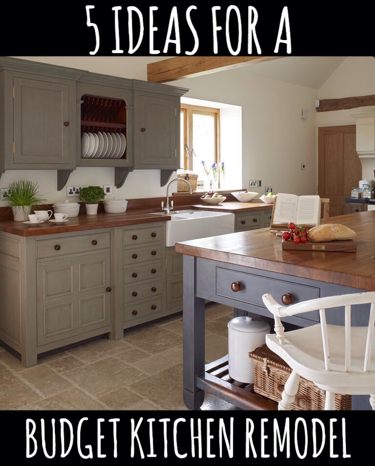5 ideas for a kitchen remodel on a budget for Kitchen remodels on a budget photos
