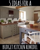5 Ideas for a Kitchen Remodel on a Budget