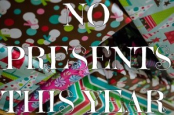 no Christmas presents
