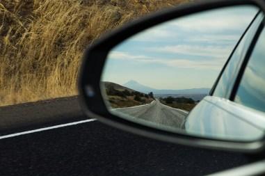 rear view mirror image