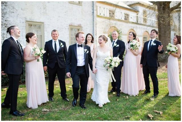 classic blush wedding at the williamsburg inn by virginia