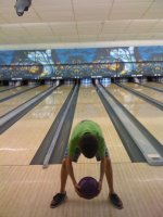 Bowling with the friends