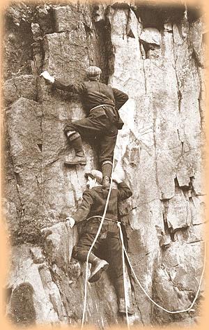 On the shoulders of giants mountaineering buildering and the vertigo of others  lukebennett13