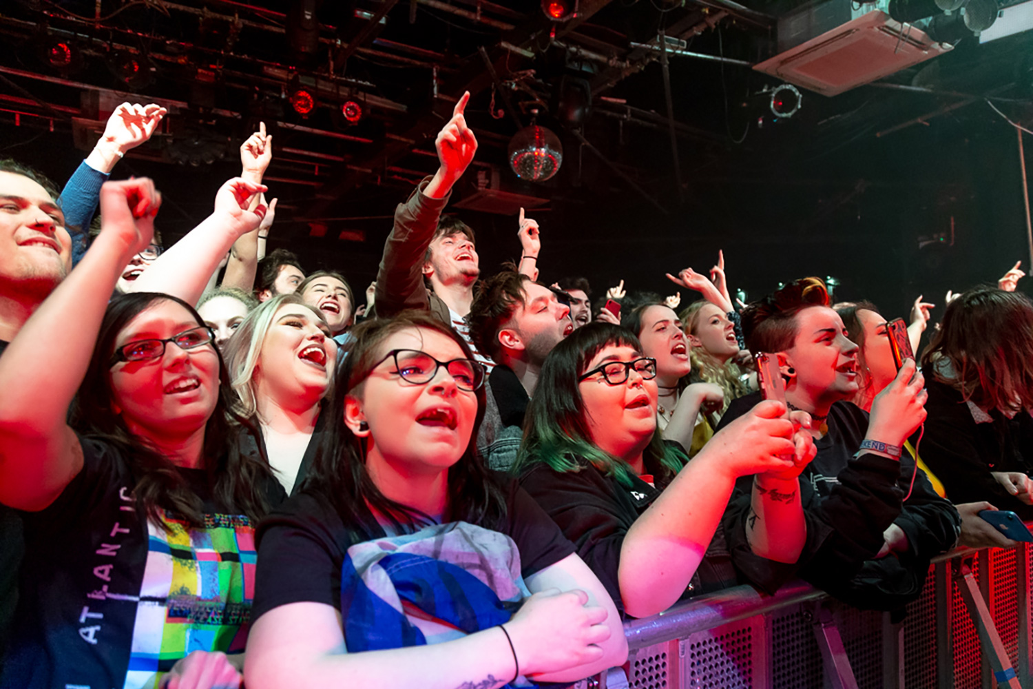 Twin Atlantic fans at The Leadmill Sheffield