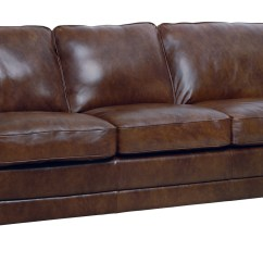 Leather Sofa Chair Rent Set New Luke Italian Brown Down Filled Quotandrew Quot