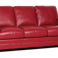 Sofa Seat Height 60cm Bernhardt Linen London Club 117 New Luke Leather Quotweston Quot Cherry Red Italian 3pc