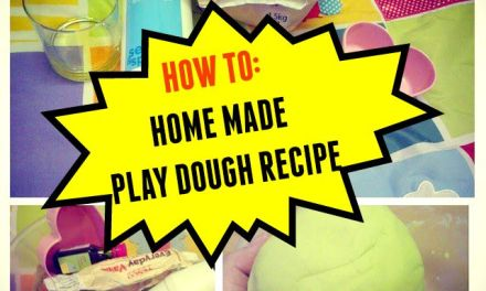 Play Dough: How To Make Home Made Play Dough