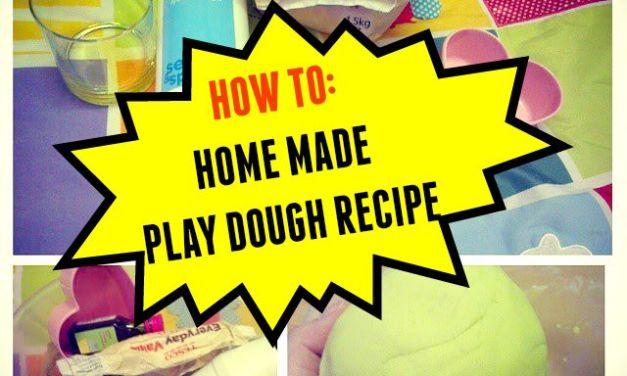Play Dough: How To Make Home Made Play Dough