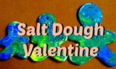 Salt Dough Valentine's Gift