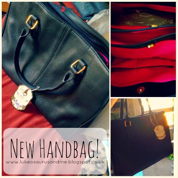 New Handbag // Mona Bags // www.lukeosaurusandme.blogspot.co.uk