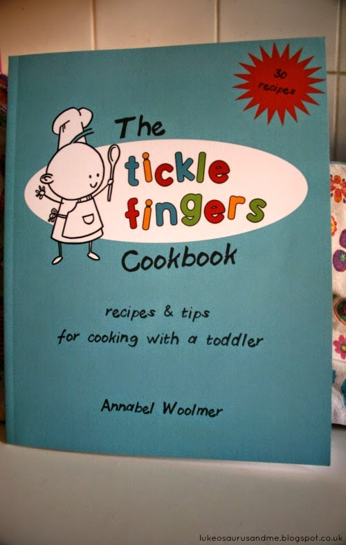 The Tickle Fingers Cookbook by Annabel Woolmer, Fight Against The Fuss from lukeosaurusandme.co.uk