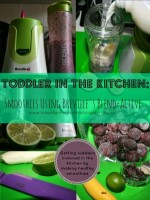 Toddler In The Kitchen: Smoothies from lukeosaurusandme.co.uk