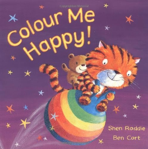 Colour Me Happy, Shen Roddie and Ben Cort - 3 Top Books We Have Been Using To Learn About Colour from lukeosaurusandme.co.uk