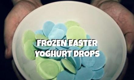 Frozen Easter Yoghurt Drops Recipe