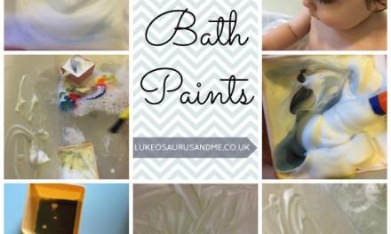 DIY Bath Paints