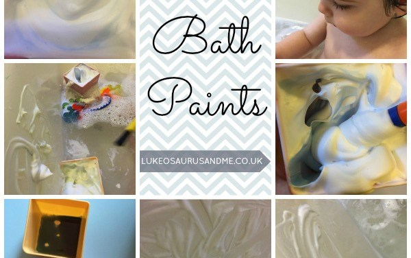 DIY Bath Paints