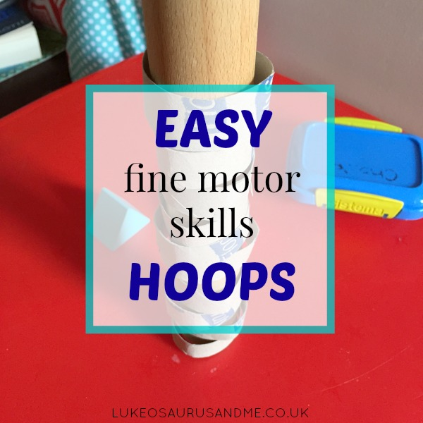 Fine Motor Skills from https://lukeosaurusandme.co.uk