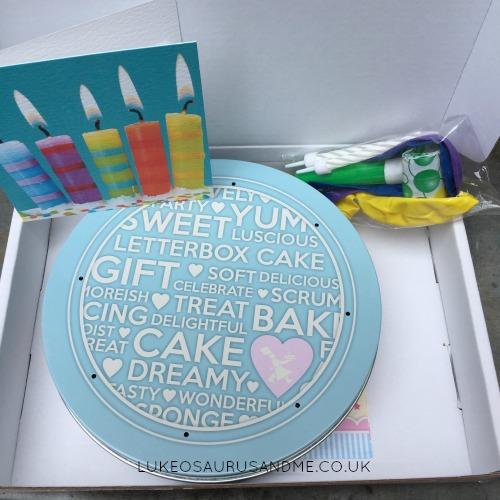Baker Days Letterbox Cake review over at lukeosaurusandme.co.uk