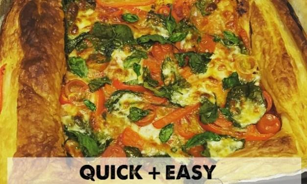 Easy Vegetarian Tart