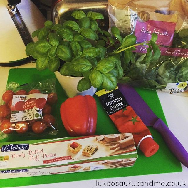 Vegetarian Tart Recipe by lukeosaurusandme.co.uk