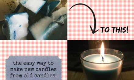 How To: The Easy Way To Make New Candles From Old Candles