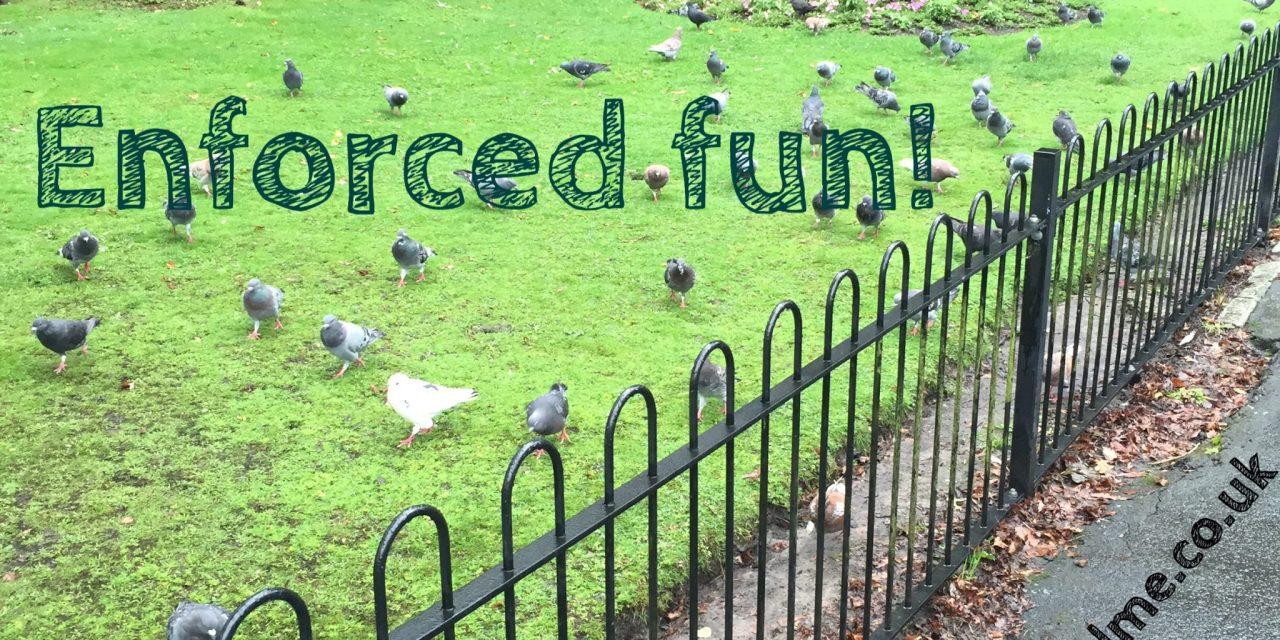 Enforced Rainy Day Fun