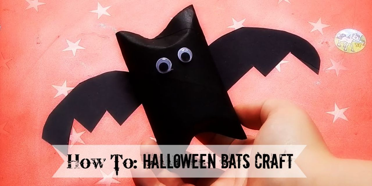 How To: Halloween TP Bats