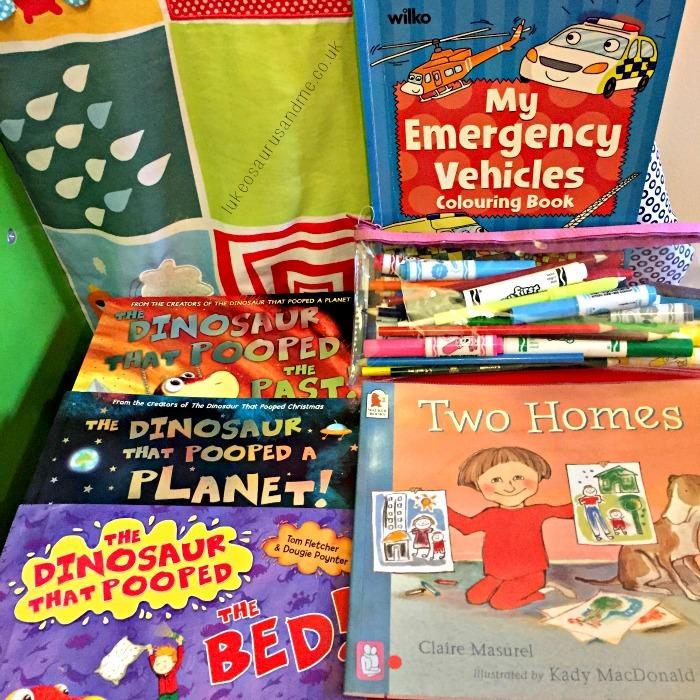 Toddler's September Favourites, books, colouring and more by lukeosaurusandme.co.uk