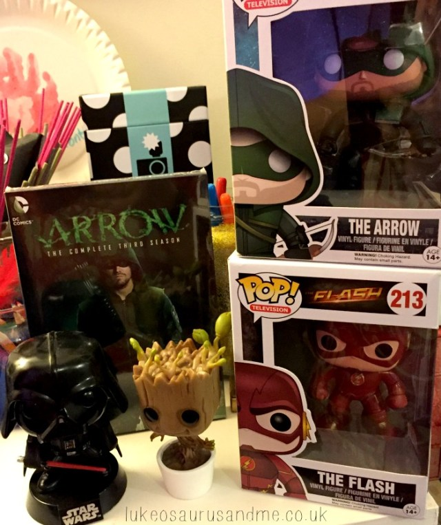 Pop Vinyls, Arrow and Uggs. September favourites by lukeosaurusandme.co.uk