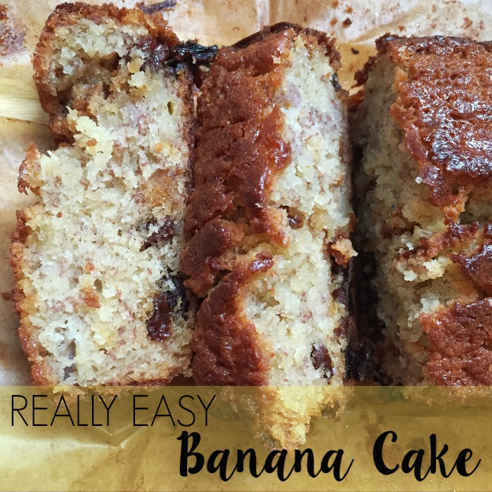 Really Easy Banana Cake Recipe by lukeosaurusandme.co.uk