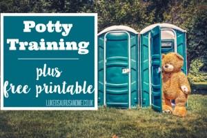 Free Potty Training Printable and Potty Training discussion at https://lukeosaurusandme.co.uk @gloryiscalling