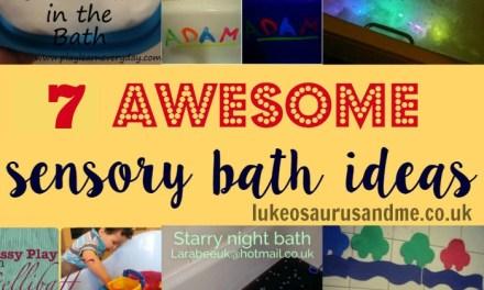 7 Amazing Sensory Bath Ideas