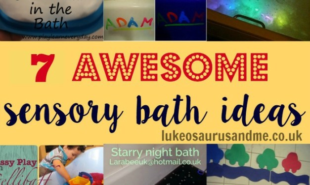 7 Amazing Sensory Bath Ideas