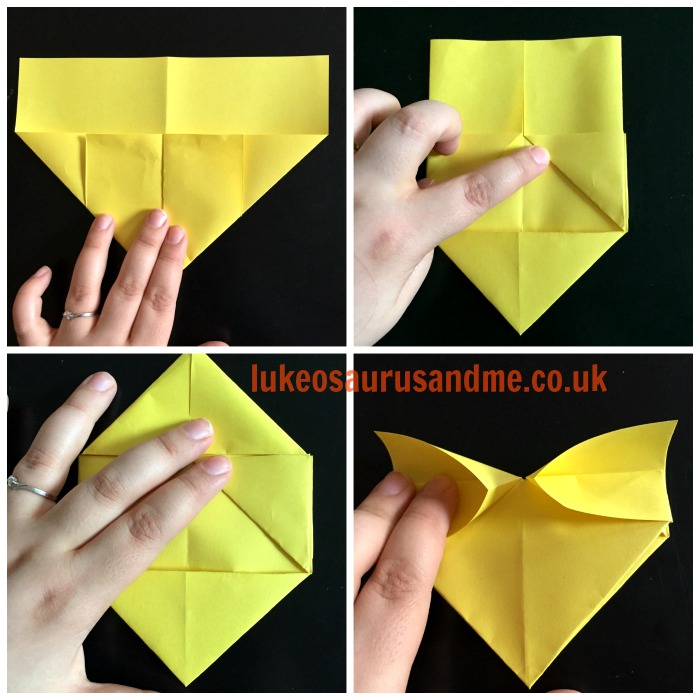 Origami Hearts Tutorial http://lukeosaurusandme.co.uk @gloryiscalling