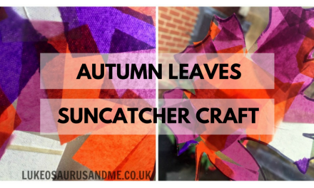 Autumn Leaves Suncatcher Craft