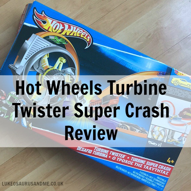 Hot Wheels Turbine Twister toy review at https://lukeosaurusandme.co.uk