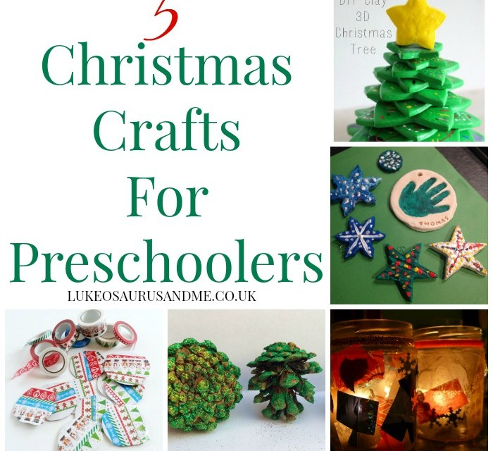 5 Christmas Crafts For Preschoolers