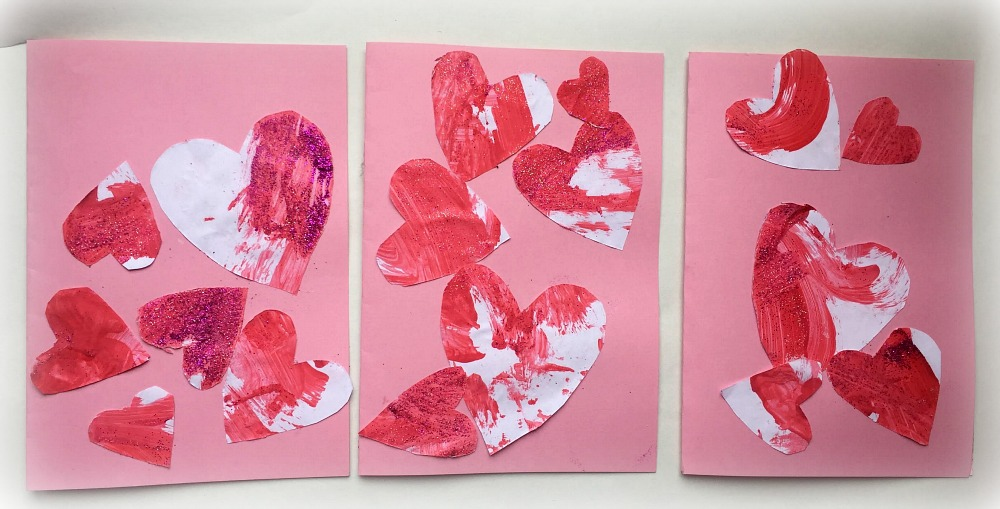 Valentine's day cards for preschoolers and toddlers at http://lukeosaurusandme.co.uk