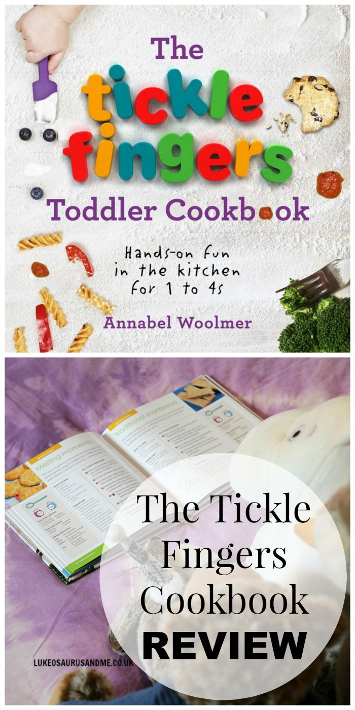 Tickle Fingers Kids Cookbook Review at https://lukeosaurusandme.co.uk