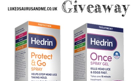 Giveaway: Hedrin Protect & Go