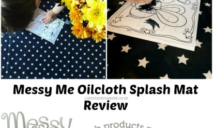 Review: Oilcloth Splash Mat From Messy Me