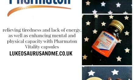 Review: Pharmaton Vitality Capsules