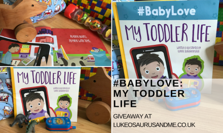 Giveaway: #BabyLove: My Toddler Life