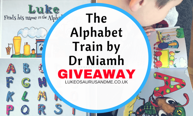 Review & Giveaway: Find My Name In The Alphabet Train